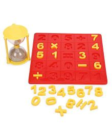 Virgo Toys  Match-It Numbers - Yellow Red