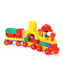 Virgo Toys Play Blocks Junior Train Set