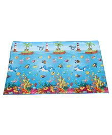 Unimats Children Educational Mats Under Water - Multi color