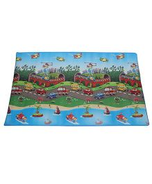 Unimats Children Educational Mats Transportation - Multi color