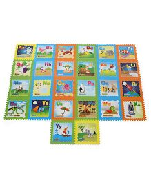 Unimats Kids Educational Alphabet Mat - Multicolour