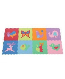 Unimats Kids Educational Animal Mat - Multicolour