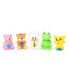 ToyFactory Animal Bath Toys Set Of 5 - Multi Color