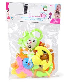 ToyFactory Rattle Set Pack Of 5 - Multi Color