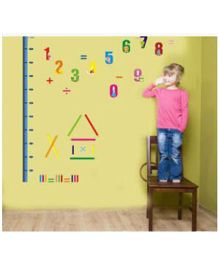 Little Nests DIY Numbers Height Measuring Stickers - Multicolor
