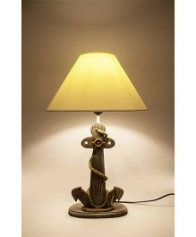 Little Nests Anchor Shape Lamp - Brown