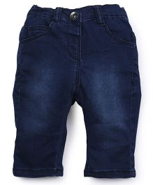 Ladybird Full Length Denim Jeans - Dark Blue