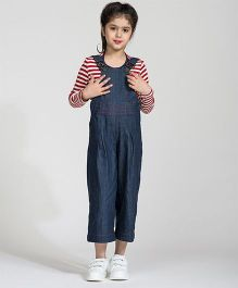My Lil'Berry Trendy Culot Dungaree - Blue