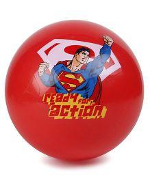 Boing Super Man Print Ball - Red