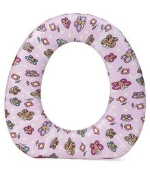 1st Step Cushioned Potty Seat Butterfly Print - Pink