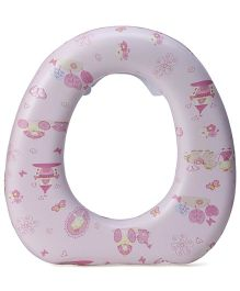 1st Step Cushioned Potty Seat Floral Print - Light Pink