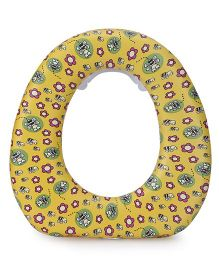 1st Step Cushioned Potty Seat Floral Print - Yellow