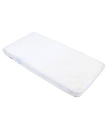 Spring Air Foam Mattress Flower Print - White