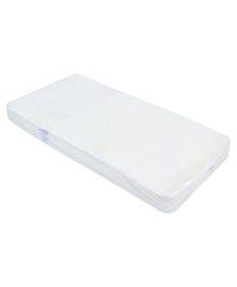 Spring Air Foam Mattress Flower Design - White