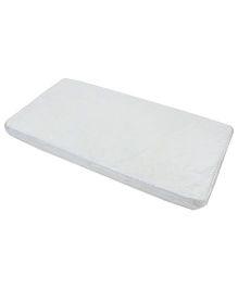 Spring Air Foam Mattress Floral Design - White