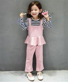 Petite Kids Top & Pant Set - Pink
