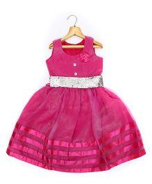 Marshmallow Kids Couture Smart Princess  Dress - Magenta