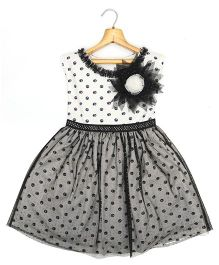 Marshmallow Kids Couture Smart Princess  Dress - Black