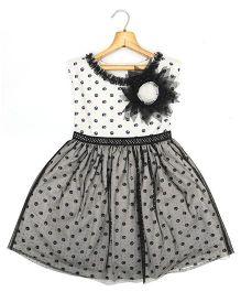 Marshmallow Kids Couture Smart Princess  Dress - Black