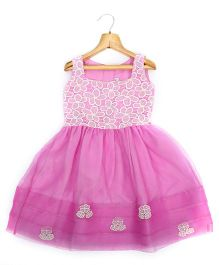 Marshmallow Kids Couture Smart Princess  Dress - Purple