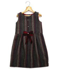 Marshmallow Kids Couture Smart Princess  Dress - Grey