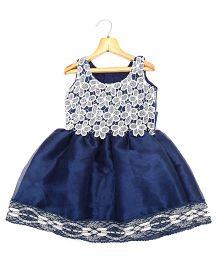 Marshmallow Kids Couture Smart Princess  Dress - Navy Blue