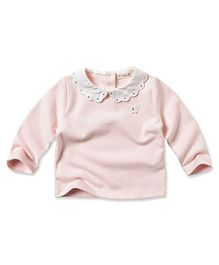 Dave & Bella Collared Top - Pink
