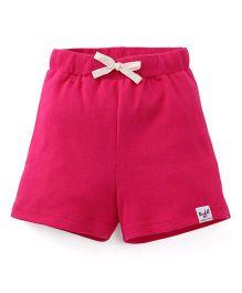 Pinehill Shorts With Drawstring - Fuchsia