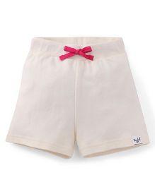 Pinehill Shorts With Drawstring - Light Cream