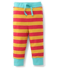 Pinehill Track Pants Stripes Print - Orange Red