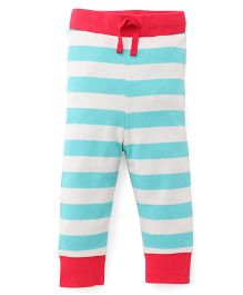Pinehill Striped Full Length Track Pant - Red Blue