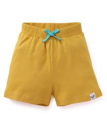 Pinehill Shorts With Drawstring - Yellow