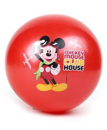 Boing Mickey Mouse Print Ball - Red