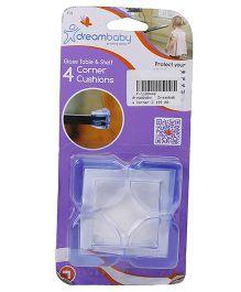 Dreambaby Glass Table & Shelf Corner Cushions - Pack Of 4