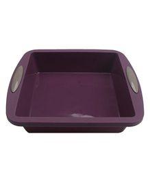 Wonderchef Silicone Square Shaped Cake Mould - Purple