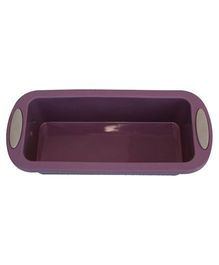 Wonderchef Silicone Plum Cake Mould - Purple
