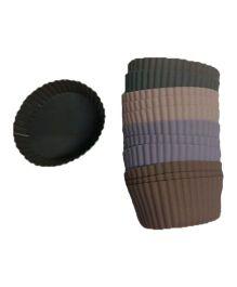 Wonderchef Silicone Round Cupcake Mould - Multicolour