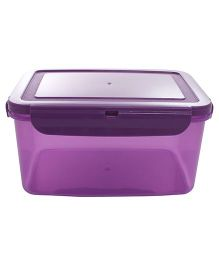 Wonderchef Poplock Neon 2L Lunch Box- Purple