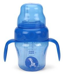 Mee Mee 2 In 1 Spout & Straw Sipper Cup Blue - 150 ml
