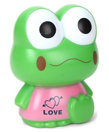 Frog Shaped Coin Bank - Green