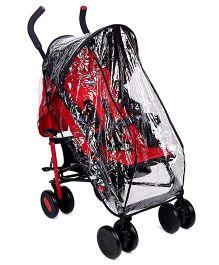 Chicco Echo Stroller With Bumper Bar Garnet - Red