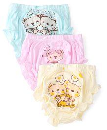 Simply Panties Multi Print Pack Of 3 - Multi Color