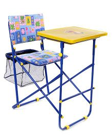 Mothertouch Educational Desk - Yellow Blue