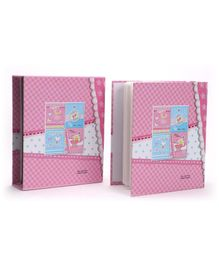 Chex And Baby Baggi Print Photo Album - Pink
