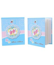 Socks Printed Photo Album - Sky Blue