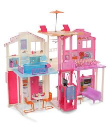 Barbie Passport 3 Story Townhouse - Pink