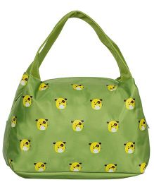 EZ Life Cartoon Print Kids Thermal Lunch Bag - Green