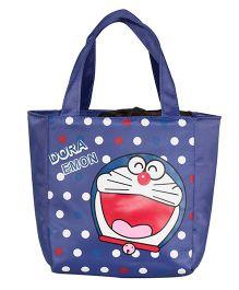EZ Life Cartoon Print Kids Thermal Lunch Bag - Blue