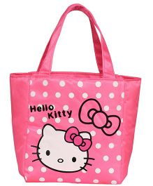EZ Life Kitty Print Kids Thermal Lunch Bag - Pink