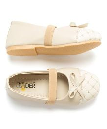 LCL Pretty Ballerina Bellies With Bow - Beige
